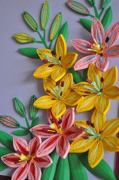 nhipaperquilling: 9/ Paper quilling