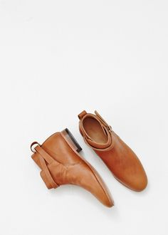 Dieppa Restrepo Mer Flat Ankle Boot (Honey Whiskey)