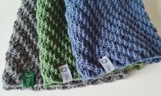 Hue med vri. Strikk. Knit. Hue, Knitting, Crochet, Fashion, Green, Moda, Tricot, Breien, Crochet Crop Top