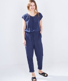MINIMUM Catinka Jumpsuit twilight blue