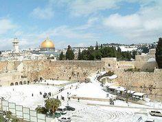Snow. Jerusalem, January 2013