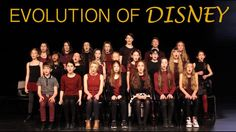 EVOLUTION OF DISNEY, by Spirit YPC