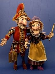 Punch and Judy marionettes http://judyweightman.wordpress.com/2012/08/30/heck-of-a-namesake-meditating-on-punch-and-judy/