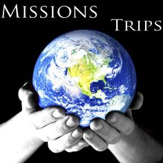 Go on a missions trip! They will change your life and perspective. Make a difference. Get involved.