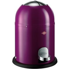 Wesco Single Master Bathroom Bin - Purple