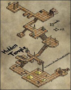 Map 23 – Hidden Temple