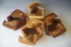 Wooden Keepsake Box, Handcrafted Wood Box, and Decorative Keepsake Box