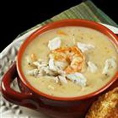 The Best Shrimp and Blue Crab Chowder Recipe on Foodgeeks