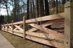 Wood Fence on Pinterest | Wood