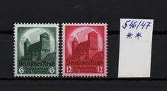 Dt. Reich 1934 Parteitag.Nürnberg. MiNr 546 - 547
