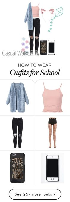 """""""Untitled #651"""" by cinnawons on Polyvore featuring GCDS, AMIRI, Pilot, Hot Topic, Monsoon, Cricut and Free People"""