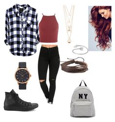 """""""style1"""" by angie-9600 on Polyvore featuring Converse, Joshua's, Marc by Marc Jacobs, Full Tilt i Zodaca"""