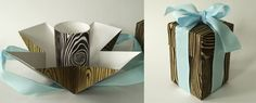 Creative  36 Do It Yourself Gift Box Tutorials For Your Christmas Presents