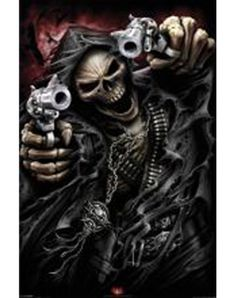 Spiral Assassin Poster - http://www.AmericasMall.com/spencersonline-gadgets