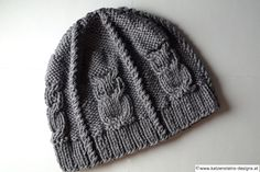 Eulenmütze grau Knitted Hats, Beanie, Knitting, Design, Fashion, Tejidos, Creative Products, Knitting For Kids, Hoods