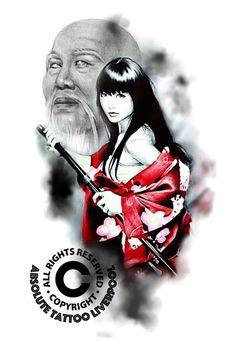 geisha and warrior