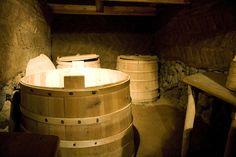 pantry.   Medieval Viking Farmhouse in Þjórsárdalur by tomkokat, via Flickr