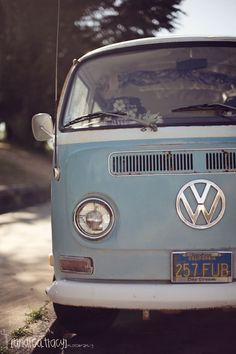 Volkswagen Bus. I want one so bad!!!! Would make a super cute way to deliver homemade yummies!!!