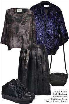 How to wear #Nomia Bomber Jacket. #EmmaCook #Burberry #Acne #VanessaBruno #Vintage #Designer #MyMint