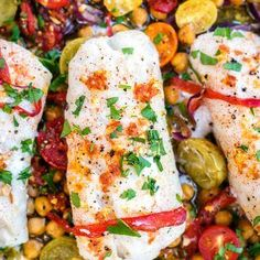 One-pan Cod with Chorizo and Chickpeas - Supergolden Bakes