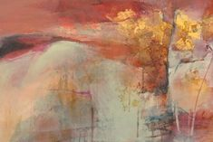 Joan Fullerton Acrylic | Inherent Possibilities-Abstract Landscape