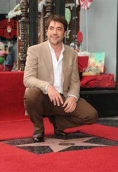 Javier Bardem gets a star on Hollywood Walk of Fame!