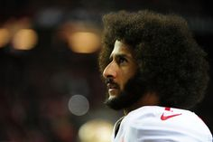Colin Kaepernick #7 of the San Francisco 49ers looks on from the sidelines during the second half against the Atlanta Falcons at the Georgia Dome on December 18, 2016 in Atlanta, Georgia. (Photo by Scott Cunningham/Getty Images)