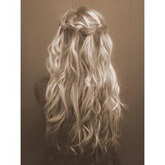 Hair & Beauty / long blond hair ❤ liked on Polyvore