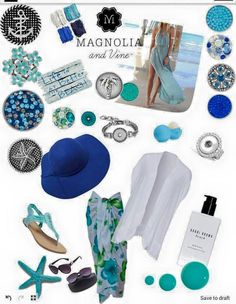 Beach!! Design a style that's right for you with Magnolia and Vine customizable, snap jewelry and accessories. Check out my website... www.mymagnoliaandvine.com/karenschuster.