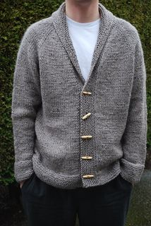 "Ravelry: ""Sophisticate"" adult cardigan knitting pattern by Linden Down Mens Knitted Cardigan, Sweater Knitting Patterns, Knitted Shawls, Knitting Designs, Knit Patterns, Hand Knitting, Pullover Sweaters, Pullover Pullover, Cardigan Pattern"