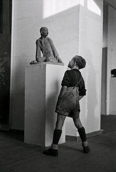 Erich Höhne / Erich Pohl. Knieender Hirte, 1949