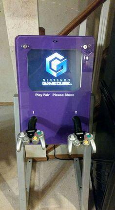 Gamecube kiosk