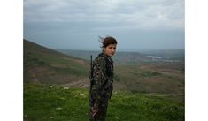 "On the frontlines with the Kurdish female fighters beating back ISIS Öcalan's Angels  ""The role of female fighters is much more important than the role of male fighters, because they are already free,"" says Farashin Mehriva, twenty-one. ""But we are fighting for the freedom of all women in the world. ISIS and many other anti-women groups want to wipe women off the Earth. But YPJ won't allow that."""