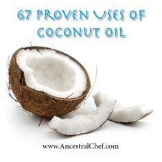 paleo uses for coconut oil