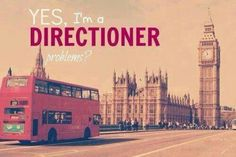 I am a directioner and  I'm proud to be a directioner