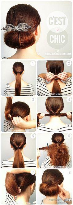 10 kiểu tóc búi sang trọng và dễ làm   AFAMILY.vn
