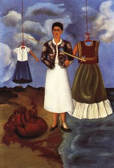 The heart. Frida Kahlo.