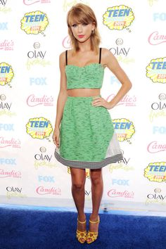 The best looks from last night's Teen Choice Awards: Taylor Swift