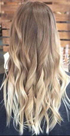 Omber wavy hair #gorgeoushair