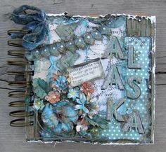 DAY ONE of our Altered Art week with Heidi Swapp and Petaloo's Color Me Crazy.  Come check out the inspirations and enter for a chance to win some goodies.