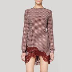 Pomegranite Circle Print Portman Dress//Stella McCartney SP12