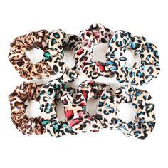 GSM Accessories 8PCS Womens Girls Leopard Print Velvet Hair Bands Scrunchies Ponytail Holders PH029X2 >>> Visit the image link more details. (Amazon affiliate link)