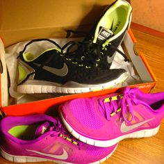 New Nike Free Fits to go along with my Free Runs   Can't wait to try 'em out!