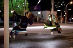 21 Swings: An Exercise in Musical Cooperation Every spring, an interactive installation takes over a high-traffic area in Montréal's Quartier des… Archdaily Mexico, Rules For Kids, Basketball Photography, Interactive Installation, Urban Life, Sport Quotes, Inspirational Videos, Kids Videos, Kids Sports