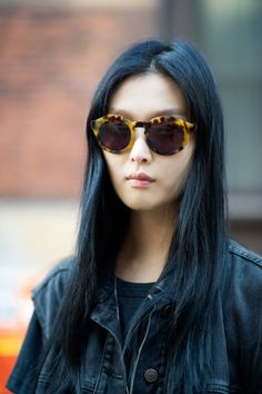 Big specs, long hair. Photo by YoungJun Koo.