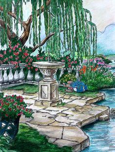 Coloured By Josie Rustia Saliendra . Book: Posh Coloring Book ...