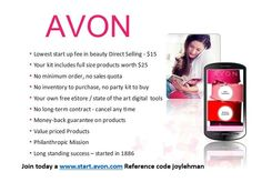 Why you should join Avon!