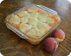 So Tasty So Yummy: Peach Cobbler