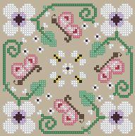 The Floss Box | Biscornu 402 Pdf pattern