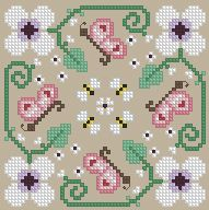 The Floss Box | Biscornu 402 Pdf pattern